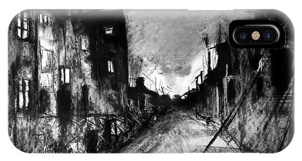 Warsaw Ghetto 1945 IPhone Case