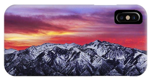 Wasatch Sunrise 2x1 IPhone Case