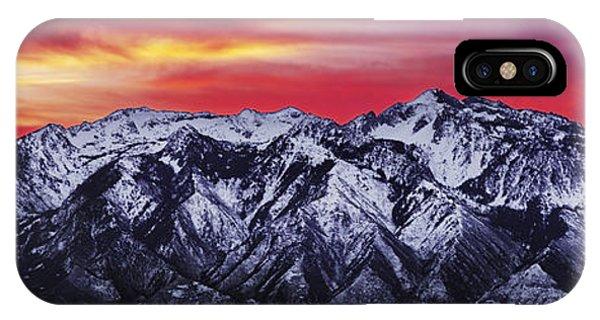 Wasatch Sunrise 3x1 IPhone Case