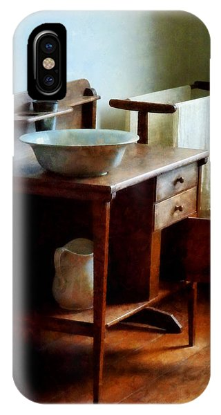 Wash Basin And Towel IPhone Case