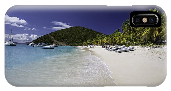 Washed Ashore At Jost Van Dyke IPhone Case