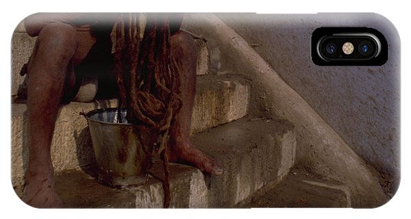 Varanasi Hair Wash IPhone Case