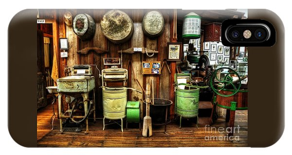 Washing Machines Of Yesteryear IPhone Case