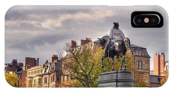 Washington And The 617 - Boston IPhone Case