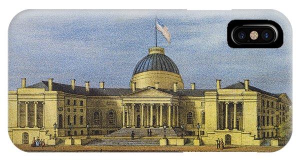 Washington City Hall Circa 1866 IPhone Case