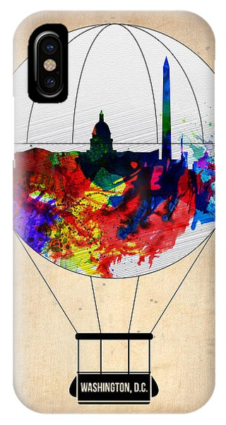 Washington D.c. Air Balloon IPhone Case