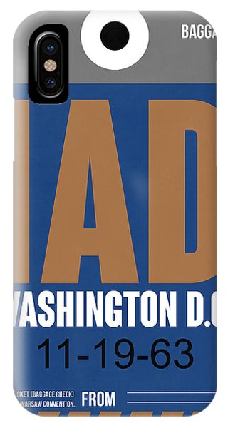Washington D.c. Airport Poster 4 IPhone Case