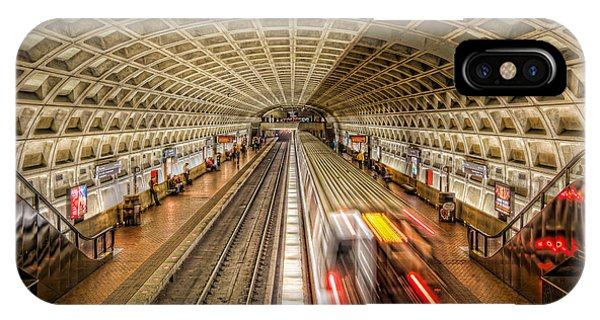 Washington Dc Metro Station Xi IPhone Case