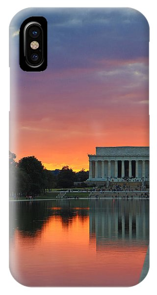 Washington Dc Night Phone Case by Jack Nevitt