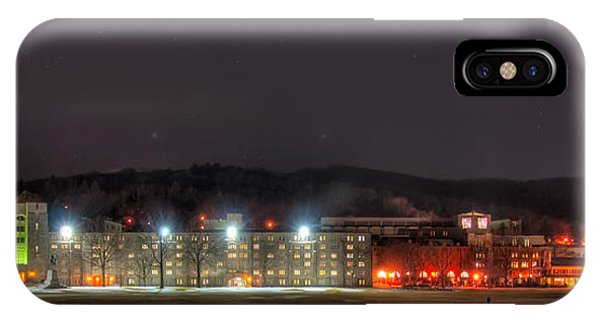 Washington Hall At Night IPhone Case