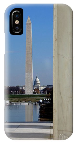 Lincoln Memorial iPhone Case - Washington Landmarks by Olivier Le Queinec