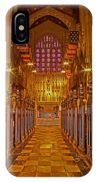 Washington Memorial Chapel Altar IPhone Case