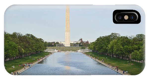 Washington Monument 1 IPhone Case