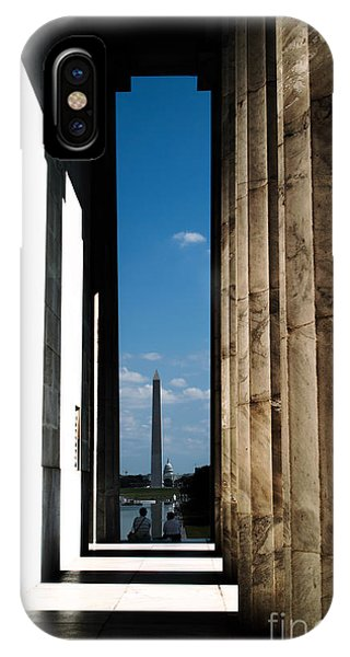 Washington Monument Color IPhone Case