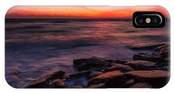 Washington Oaks Winter Sunrise IPhone Case