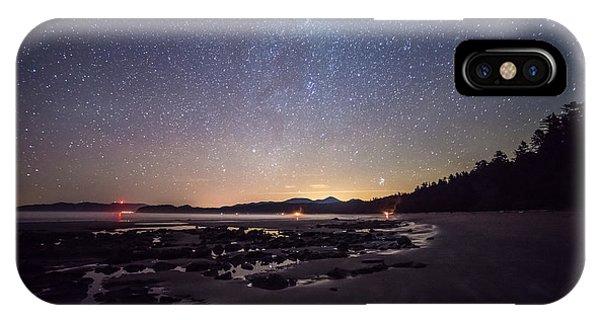 Washington Olympic Night Sky Meteor IPhone Case