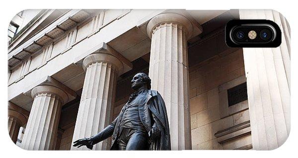 Washington On Wall Street IPhone Case