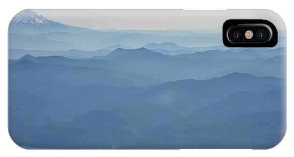 Distant iPhone Case - Washington View From Mount Saint Helens by Matt Freedman