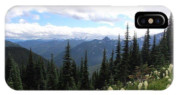 Washington Wildflowers IPhone Case