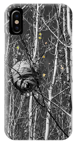 Wasp Nest In Aspen IPhone Case