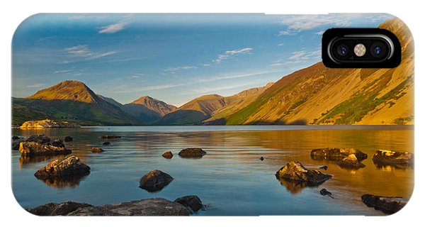 Wast Water Lake District Phone Case by David Ross