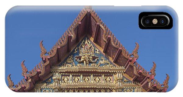 Wat Amarintaram Ubosot Gable Dthb1509 IPhone Case