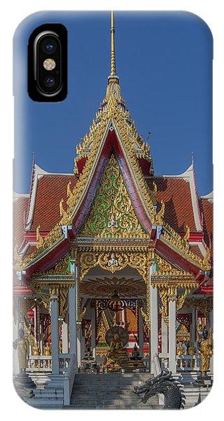 Wat Bukkhalo Central Roof-top Pavilion Dthb1809 IPhone Case