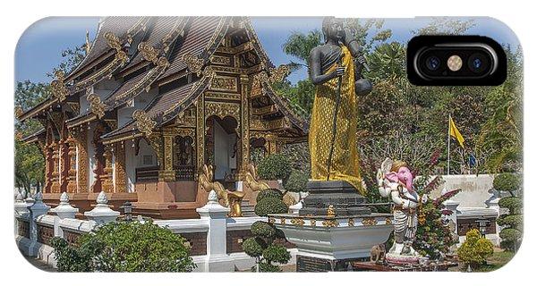 Wat Chedi Liem Phra Ubosot Dthcm0831 IPhone Case