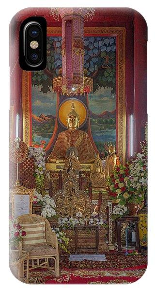 Wat Chedi Liem Phra Wihan Buddha Image Dthcm0827 IPhone Case
