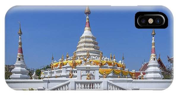 Wat Songtham Phra Chedi Dthb1915 IPhone Case