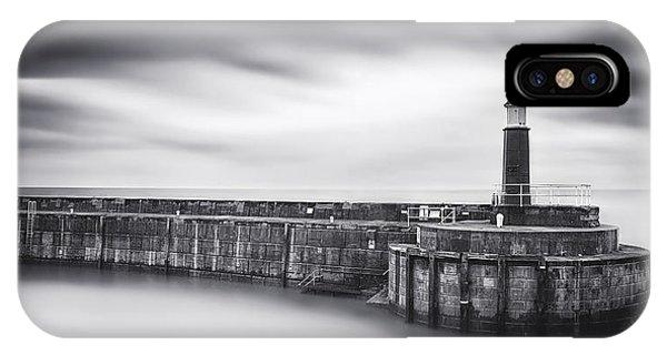 Lighthouse iPhone Case - Watchet Lighthouse by Catalin Alexandru