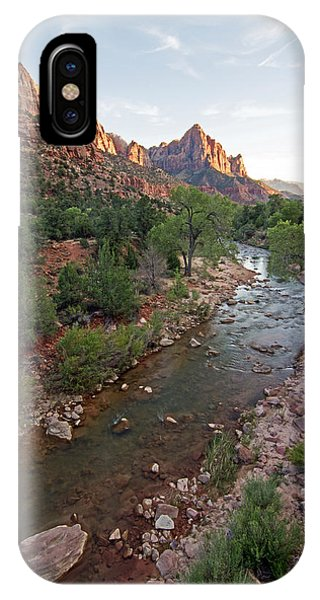 Watchman Sunset IPhone Case