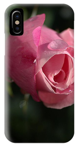 Water And Rose IPhone Case