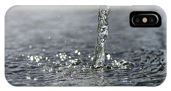 Water Beam Splashing IPhone Case