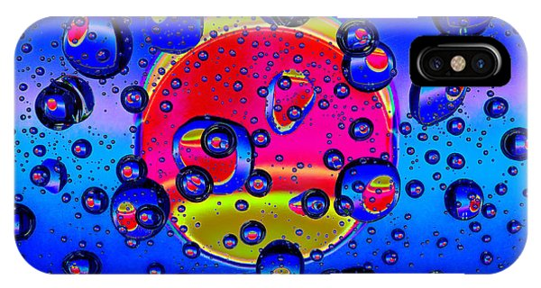 Water Drops Fantasy IPhone Case