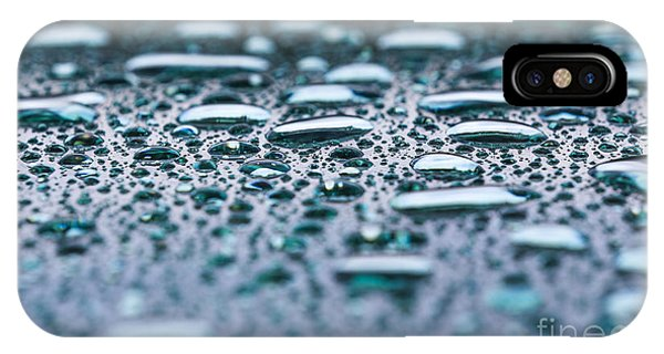 Water Drops Phone Case by Mina Isaac