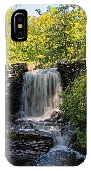 Water Fall Moore State Park 2 IPhone Case
