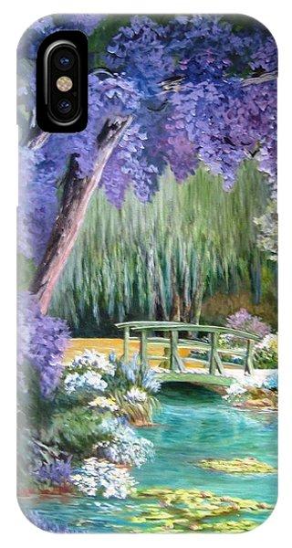 Water Garden Phone Case by Teresita Hightower