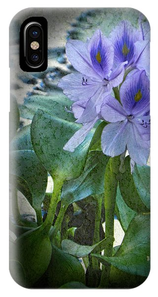 Water Hyacinth  IPhone Case
