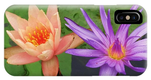 Water Lilies 011 IPhone Case
