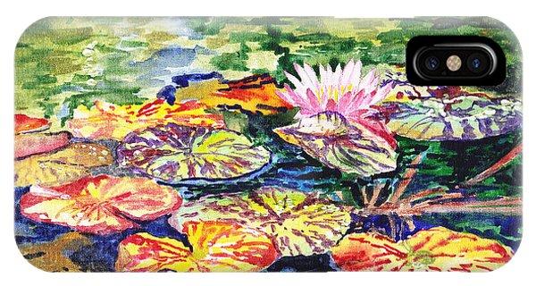 Style iPhone Case - Water Lilies by Irina Sztukowski