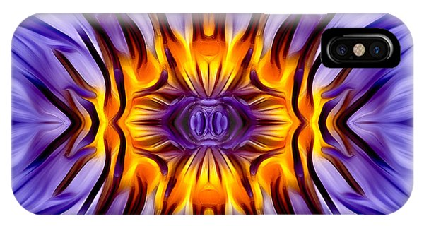 Lillie iPhone Case - Water Lily Abstract by Susan Candelario