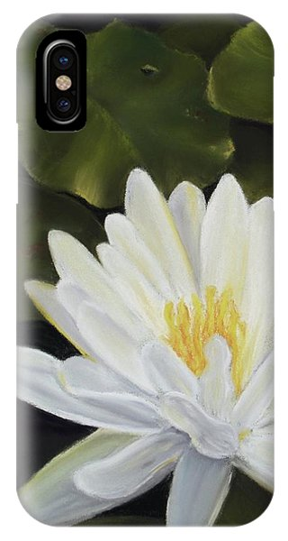 Water Lily Phone Case by Joan Swanson