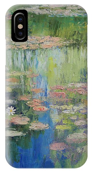 Lilly iPhone Case - Water Lily Pond by Michael Creese