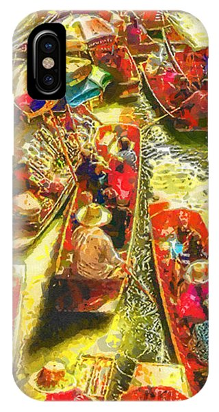 Mo iPhone Case - Water Market by Mo T