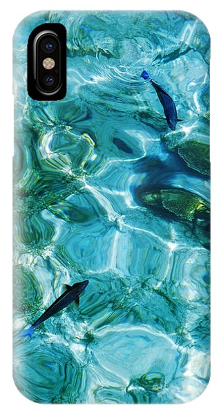 Water Meditation II. Five Elements. Healing With Feng Shui And Color Therapy In Interior Design IPhone Case
