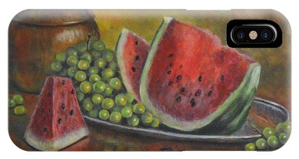 Water Melon Phone Case by Jana Baker
