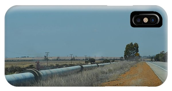 Water Pipeline IPhone Case