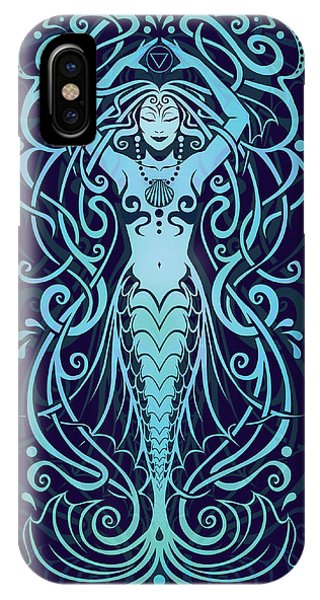 Water Spirit V.2 Phone Case by Cristina McAllister