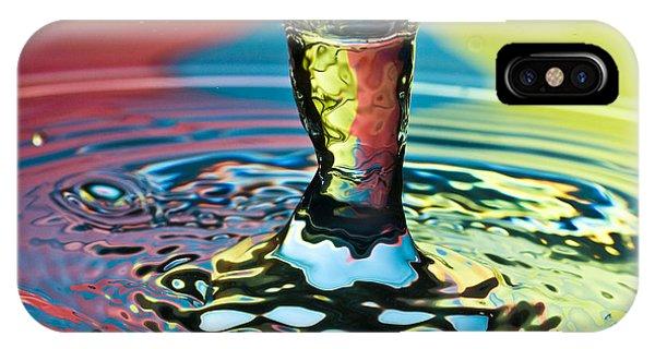 Water Splash Art IPhone Case